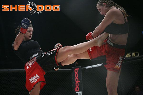 gina carano fight - photo #12
