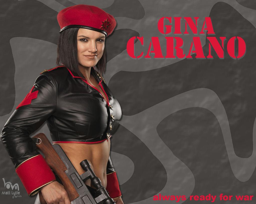 gina carano gq wallpaper - photo #3