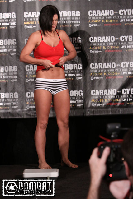 Gina Carano Images Naked Weigh In