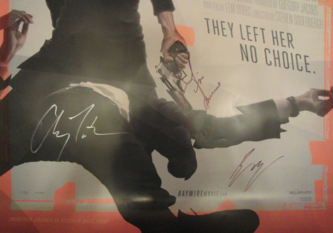 Haywire poster autographed